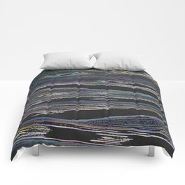 Abstract Estuary Comforters