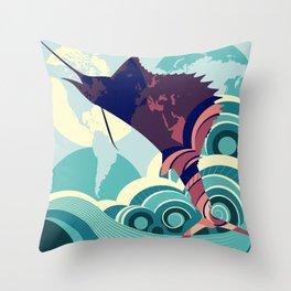 Seven Seas Explorer  Throw Pillow