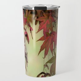 Maple Leaves Travel Mug
