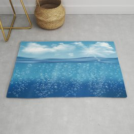 Come, Swim with me - series - iii -  Rug
