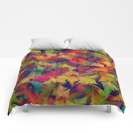Abstract Pattern 4 Comforters