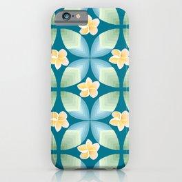 Plumeria Floral iPhone Case