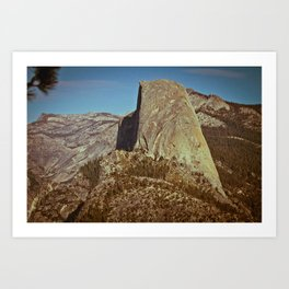 Half Dome - Yosemite National Park Art Print
