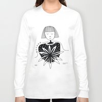 mother Long Sleeve T-shirts featuring Mother by Bhavya Minocha