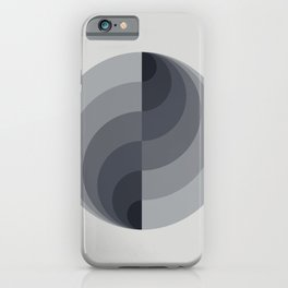 Marble Gray Globe LT iPhone Case