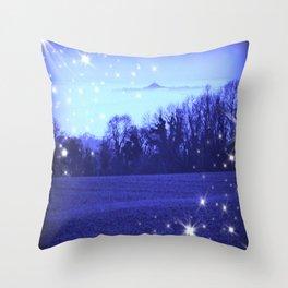Starlit Avalon Throw Pillow