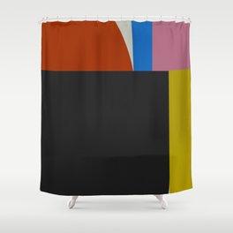 Mid Century Modern Vintage 12 Shower Curtain