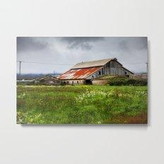 Barn In The Bottoms Metal Print