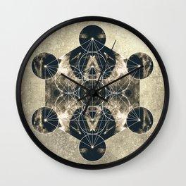 Metatron's Cube  Wall Clock