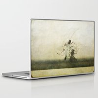 ufo Laptop & iPad Skins featuring UFO by PeDSchWork