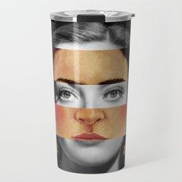 Frida Kahlo's Self Portrait Time Flies & Joan Crawford Travel Mug