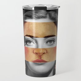 F. K.'s Self Portrait Time Flies & Joan Crawford Travel Mug