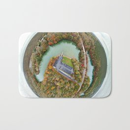 Belews Lake Tiny Planet Bath Mat
