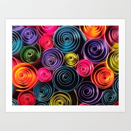 Rolled Color Art Print
