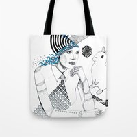 Mysterious Spin Tote Bag