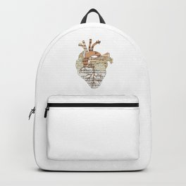 Sound Of My Heart (on white) Backpack