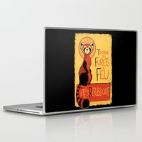 airbender Laptop & iPad Skins featuring Les Furets de Feu by adho1982