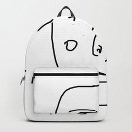 The freckled man Backpack
