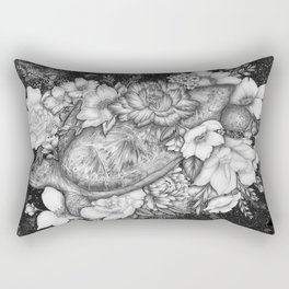 Magic Ocean: The Sea Turtle Rectangular Pillow