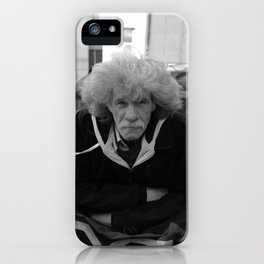 Man on The Streets iPhone Case