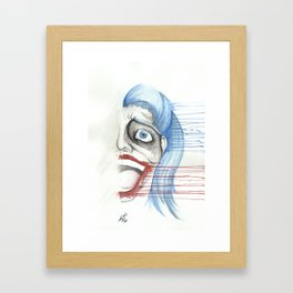 Harleen Framed Art Print