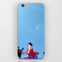 Super...on the beach iPhone Skin