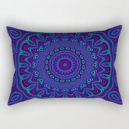 Trippy Kaleidoscope 2 Rectangular Pillow