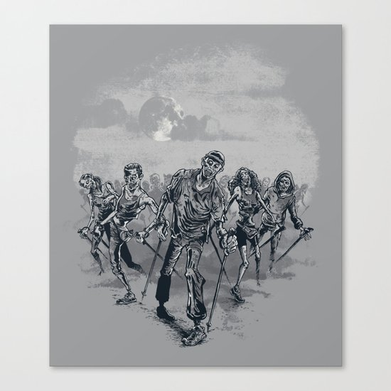 the NORDIC walking dead Canvas Print