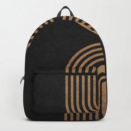 Perfect Equilibrium - Geometric Minimal - Black 2 Backpack