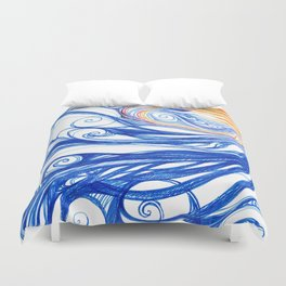 Winter Storm Duvet Cover