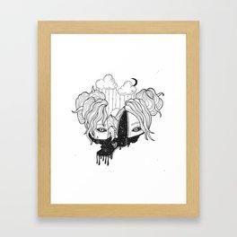 whoa Framed Art Print