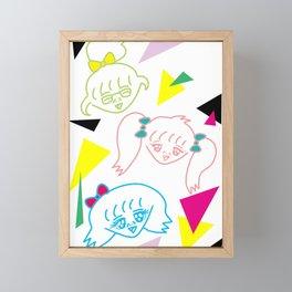GIRLS 2 | Takahashi-chan Framed Mini Art Print