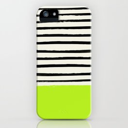 Electric Pineapple x Stripes iPhone Case