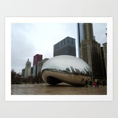 Chicago Bean Art Print