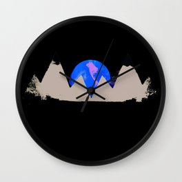 White Peak Wall Clock
