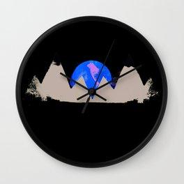 White Peak Wall Clock