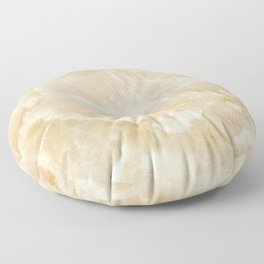 White Onyx Floor Pillow
