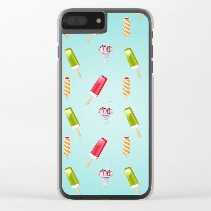 sweet summer Clear iPhone Case