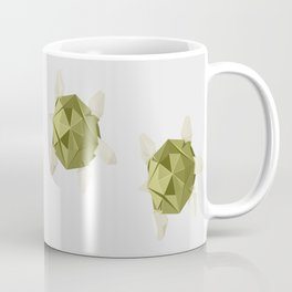 Origami Turtle Coffee Mug