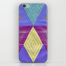 Isometric Harlequin #9 iPhone Skin