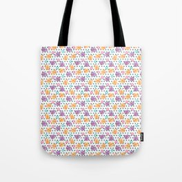 Freely Birds Flying - Fly Away Version 2 - Ocean Dots Color Tote Bag