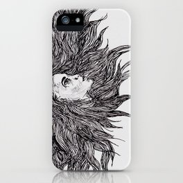 Night and Day Goddess iPhone Case