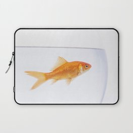 Goldfish in a bowl Laptop Sleeve