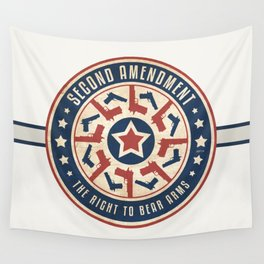 Second Amendment Wall Tapestry