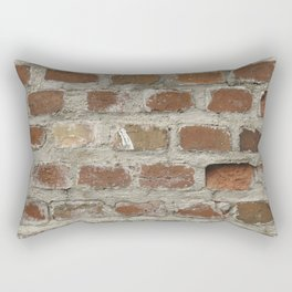 Texture #3 Bricks Rectangular Pillow