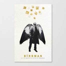BIRDMAN MINIMALIST MOVIE POSTER Canvas Print