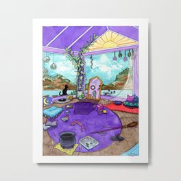 Witch's Room Metal Print