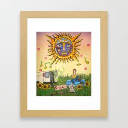 Garden Grove Framed Art Print