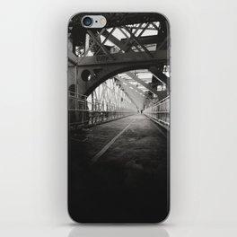 New York City: Williamsburg Bridge iPhone Skin