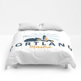 Portland Maine. Comforters